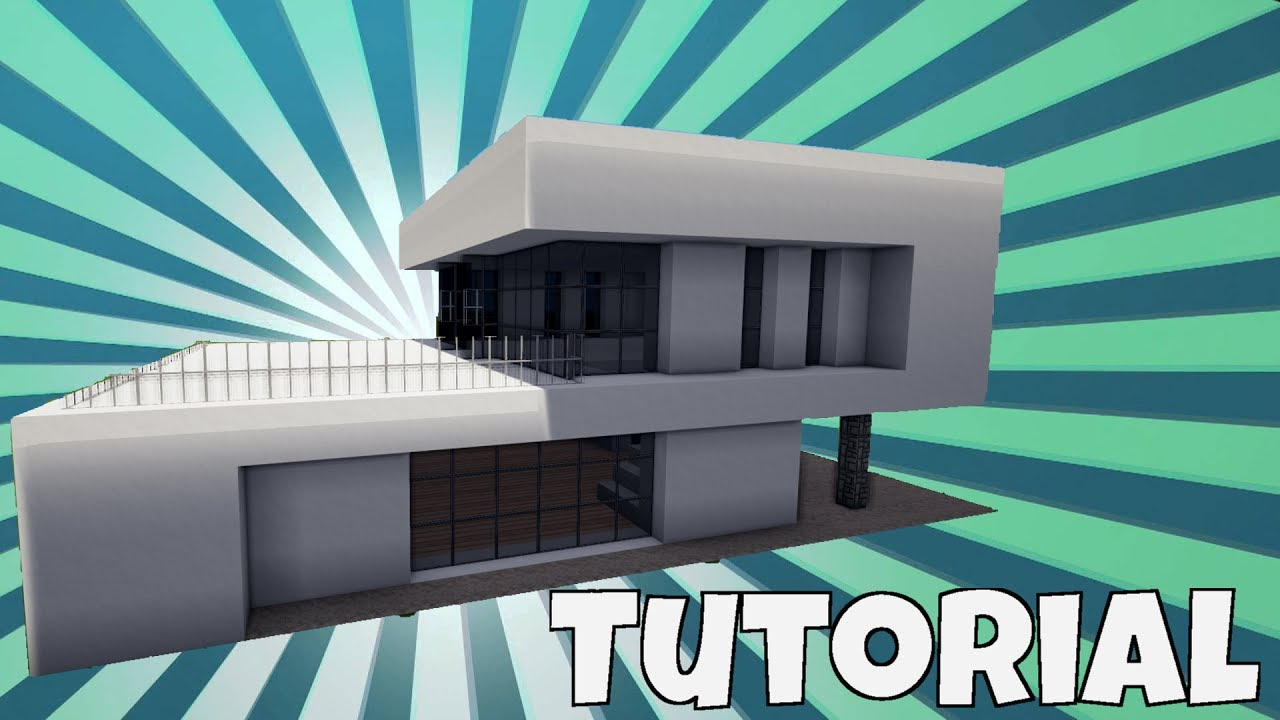 Minecraft modernes haus bauen tutorial haus 52 youtube for Minecraft modernes haus tutorial
