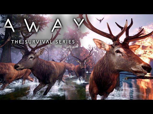 AWAY: The Survival Series 🐿️ Der Wald brennt #04 [Lets Play   Gameplay Deutsch]