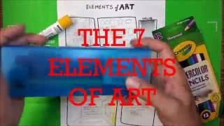 Elements of Art EOA  - Where to Start for art teachers and students - Jasey Crowl