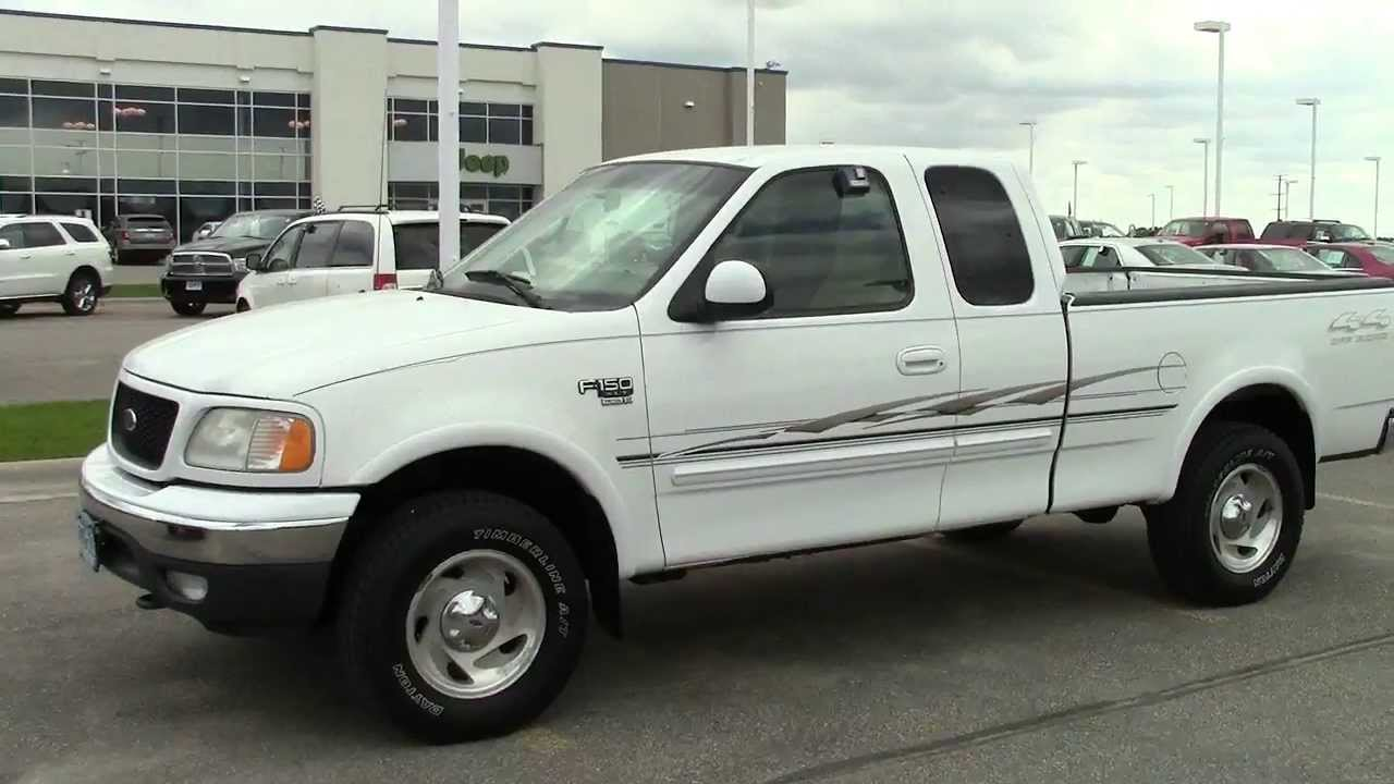 2000 ford f 150 supercab 4wd xlt youtube