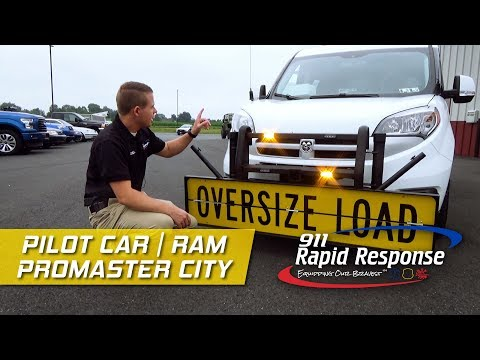 Pilot Car Escort| Ram Promaster City | 911RR