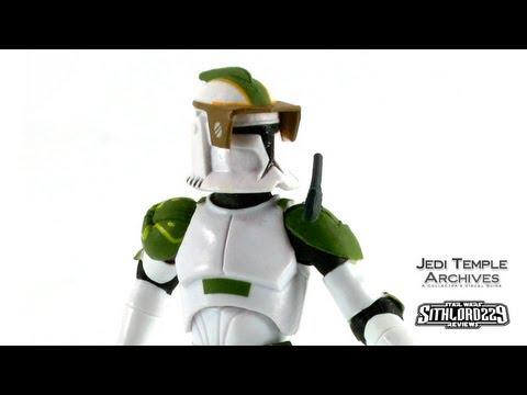 Clone Captain Lock Star Wars The Clone Wars 2011 K Mart