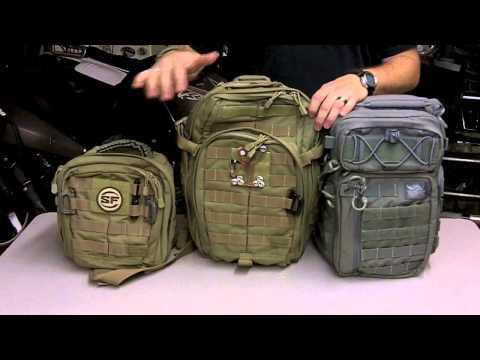 Compare the 5.11 Moab and VANQUEST Sling Style Bags