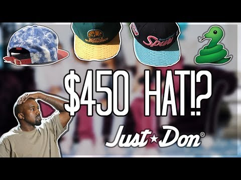 $450 HAT?! JUST DON REVIEW