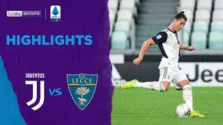 Juventus 4-0 Lecce   Serie A 19/20 Match Highlights