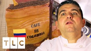 The Ultimate Gravity-Defying Coffee Cake | Cake Boss
