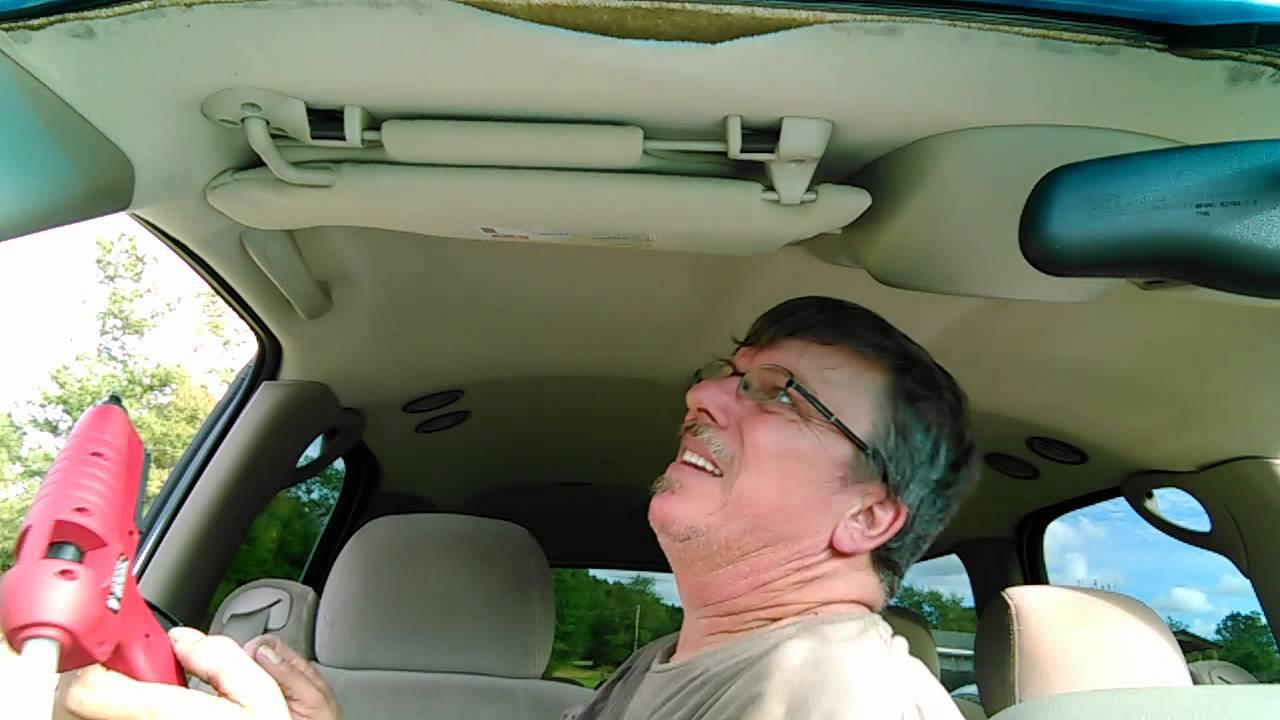 Sagging Car Ceiling Repair