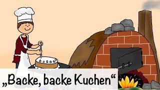 🎵 Backe, backe Kuchen - Kinderlieder | Kinderlieder deutsch - Kinderlieder singen thumbnail