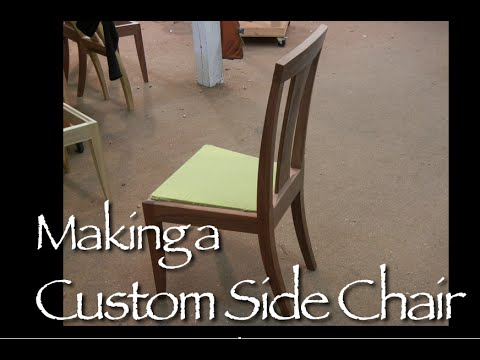 custom chair building process by doucette and wolfe furniture makers youtube. Black Bedroom Furniture Sets. Home Design Ideas