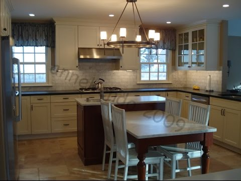 Kitchen Island Table Combination - YouTube