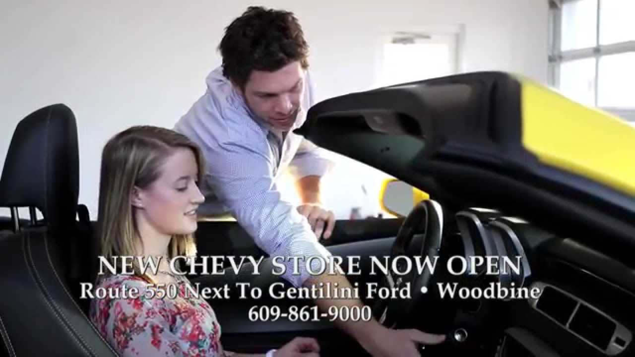 New Chevy Store Now Open | Gentilini Chevrolet | Woodbine ...