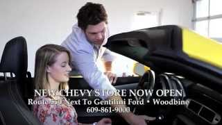 New Chevy Store Now Open | Gentilini Chevrolet | Woodbine New Jersey Chevy Dealer