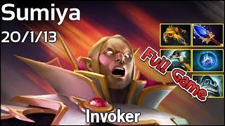 Sumiya - Invoker - Dota 2 Full Game