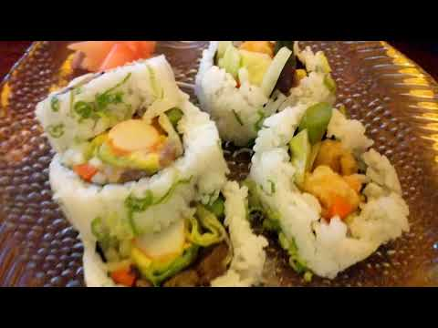 VEGAN SUSHI 🍣🍣 Kotobuki Japanese Restaurant Norfolk, VA
