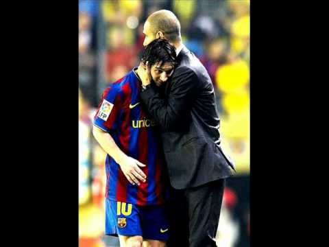 Lionel Messi & Pep Guardiola moments.