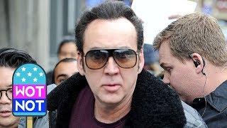 Nicolas Cage Looks Stylish Promoting New Film 'Mandy' at Sundance 2018