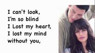 Download glee- without you lyrics MP3 song and Music Video
