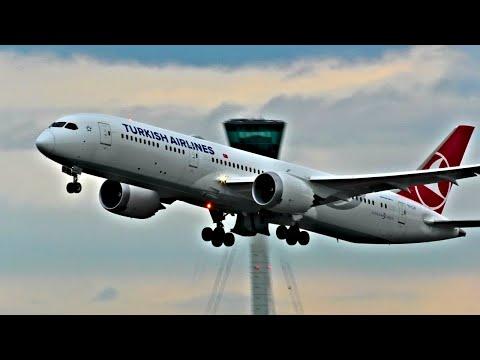 4K! Afternoon Heavy Departures - London Heathrow Airport, LHR | 08/07/20