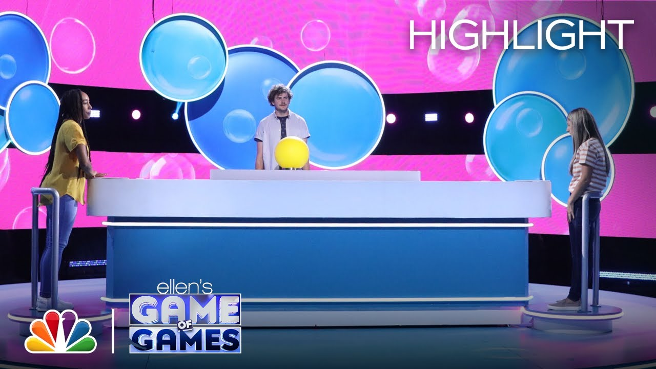 Burst of Knowledge: Contestants Have to Know Which Time Is a Charm - Ellen's Game of Games 2020