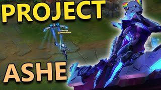 NEW PROJECT ASHE SKIN - League of Legends Commentary