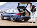New BMW 5 Series Touring REVIEW 2018 BMW 5 Series Touring G31 Driving Interior Sound CARJAM TV HD