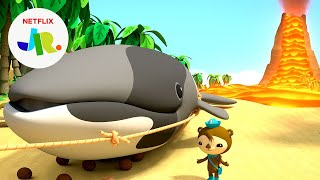 The Whale-y Big Lava Rescue 🐋🌋 Octonauts & the Ring of Fire | Netflix Jr