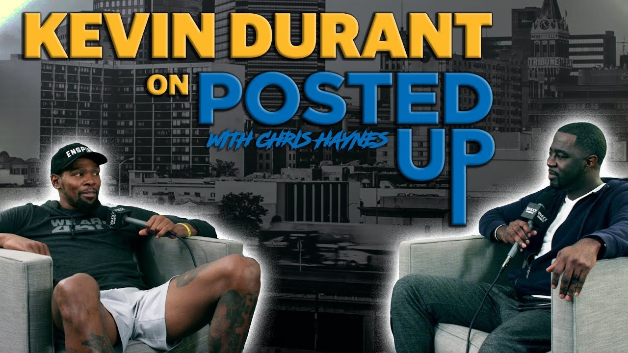 Kevin Durant joins Posted Up with Chris Haynes: A Yahoo Sports Podcast