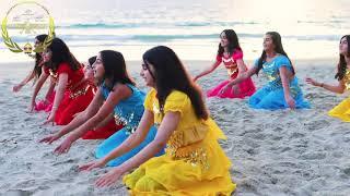 دختر بندر California Zoroastrian Center dance group