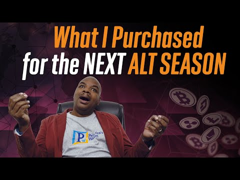 What altcoins has Davincij15 purchased for the next Alt Season?