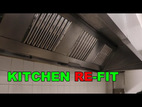 PUB KITCHEN PROJECT ~ DEEP CLEAN OF THE EXTRACTOR HOOD