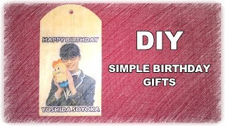 How to make a simple birthday gifts | DIY Simple Birthday Gifts | H...