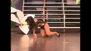 Caida en Miss Gay Nicaragua 2013