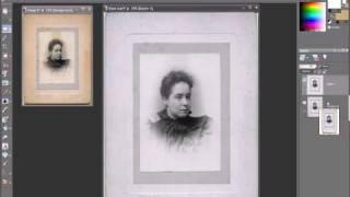 Видеоурок «Удаление пятен с фотографий»