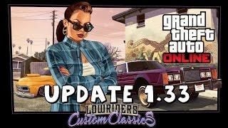 GTA V - Lowriders: Clássicos Personalizados - Patch 1.33 - Armas, Carros e mais!!
