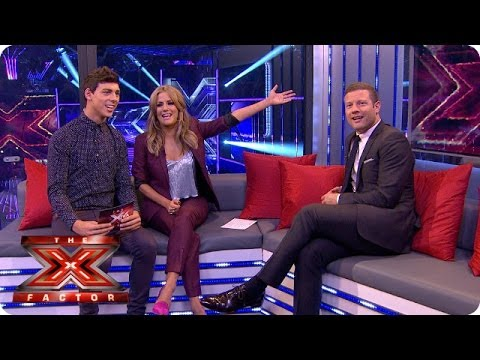 Dermot gets a right grilling - Live Week 1 - The Xtra Factor 2013