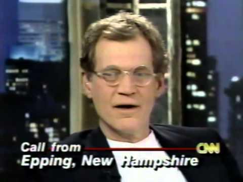 David Letterman on CNN's Larry King Live (5/23/1996)