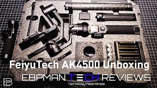 FeiyuTech AK4500 - Unboxing and initial Impression |Take your youtube channel to the next level!