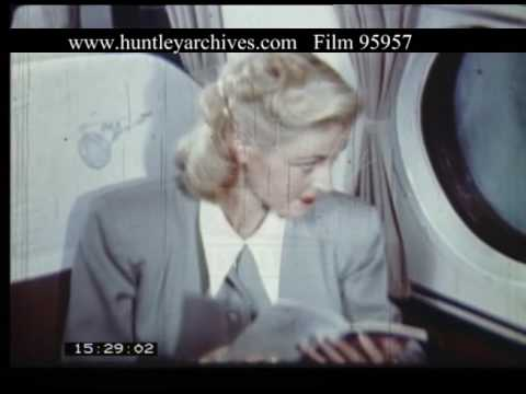 Pan Am Flight To Guatemala, 1950s - Film 95957