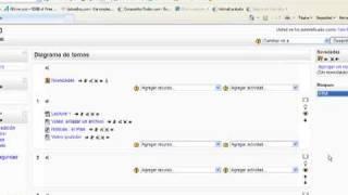 Moodle: insertar un reloj en un bloque html