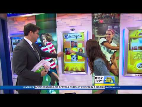 Alex Morgan Interview on Good Morning America | LIVE 3-24-14
