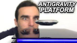 CE DISQUE FLOTTE DANS LES AIRS ! (antigravity platform)