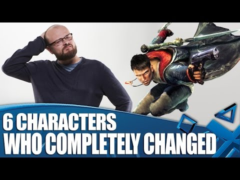 6 Videogame Characters Who Changed Unrecognisably And We Couldn't Deal With It