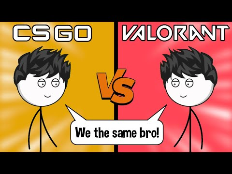 CSGO Gamers vs Valorant Gamers