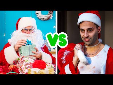 سانتا الطيب ضد سانتا الشرير