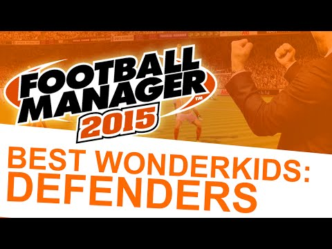 Football Manager 2015 - Best Wonderkids: Defenders #FM15