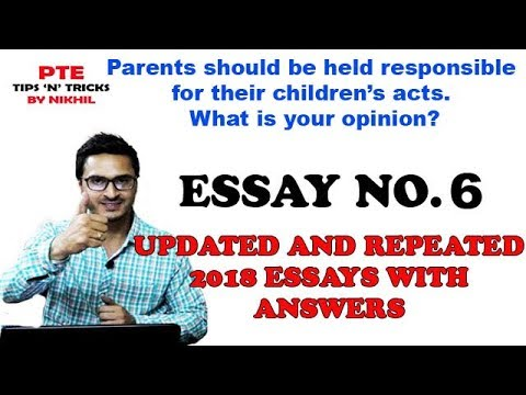 Parents essay writing
