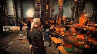 The Witcher 3 - The Real Reunion at Kaer Trolde and a feast - Part 3