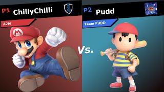 Sr8 Ssbu - Chillychilli Mario Vs. Pudd Ness Top 8 Smash Ultimate