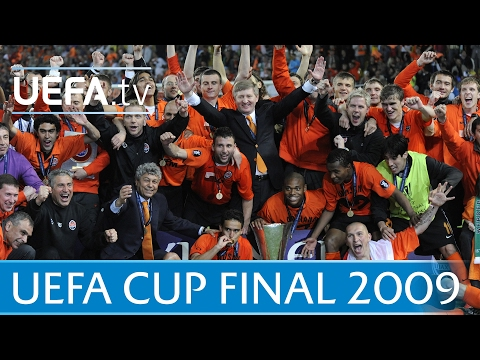 2009 UEFA Cup final highlights - Shakhtar-Werder Bremen