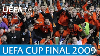 2009 UEFA Cup final highlights - Shakhtar-Werder Bremen